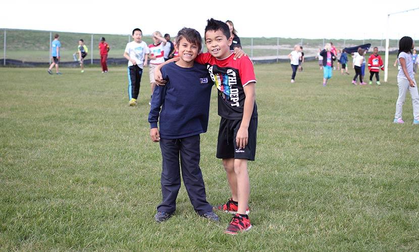 Terry Fox run elementary