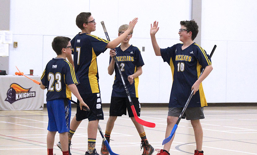 Floor Hockey Junior High