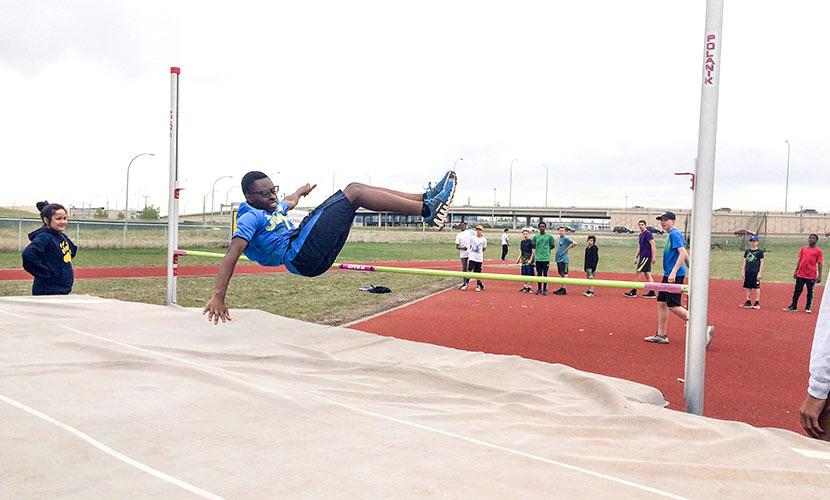 Junior High Track Field