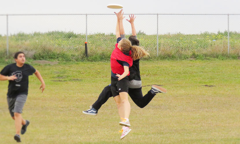 Junior High Ultimate Frisbee