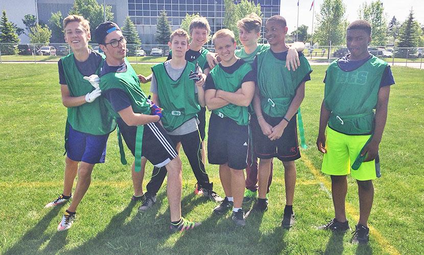 Junior High Flag Football